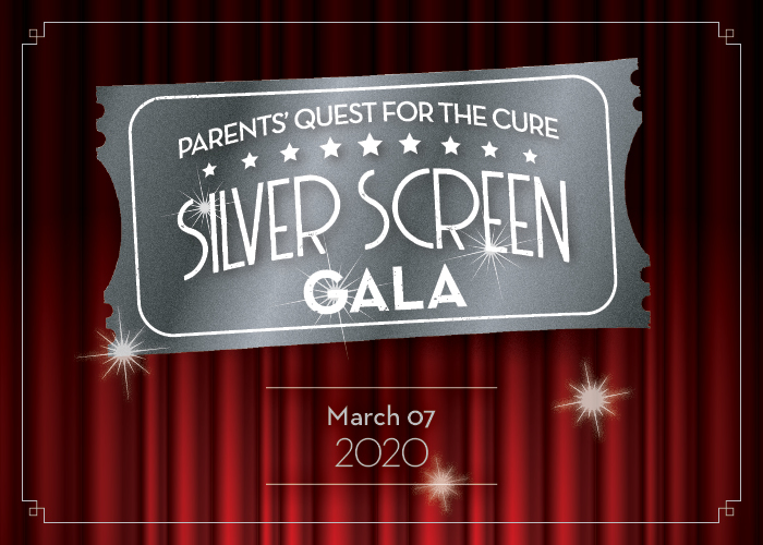 <p>parents' quest for the cure: silver screen gala</p>