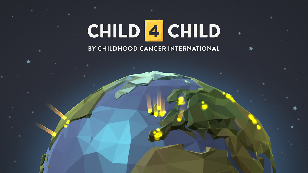 <p>raise your voices in support of children with cancer</p>